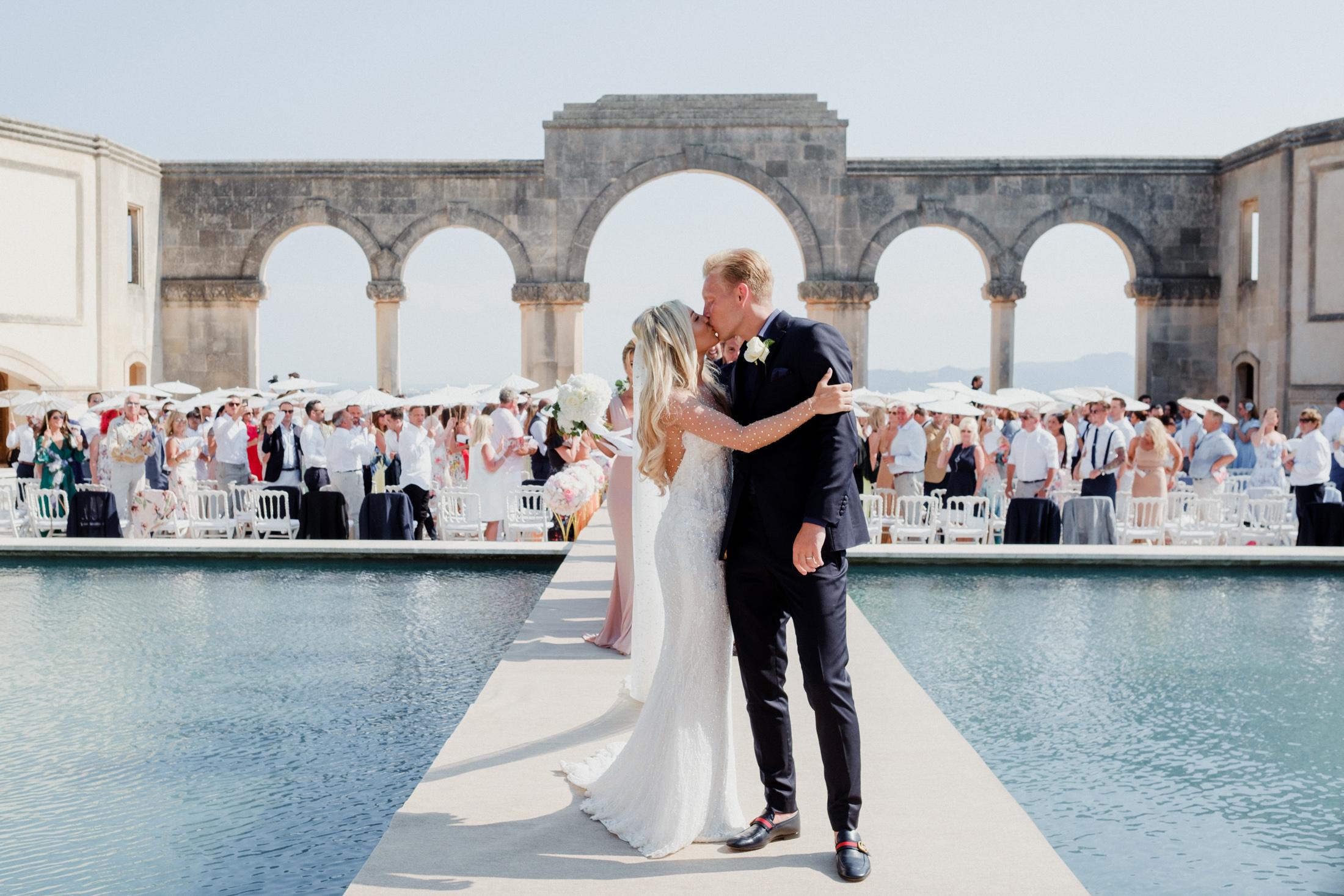 Poolside Wedding Venue