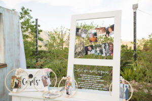 A beautiful table in the memory of loved-ones who cannot be present at the wedding