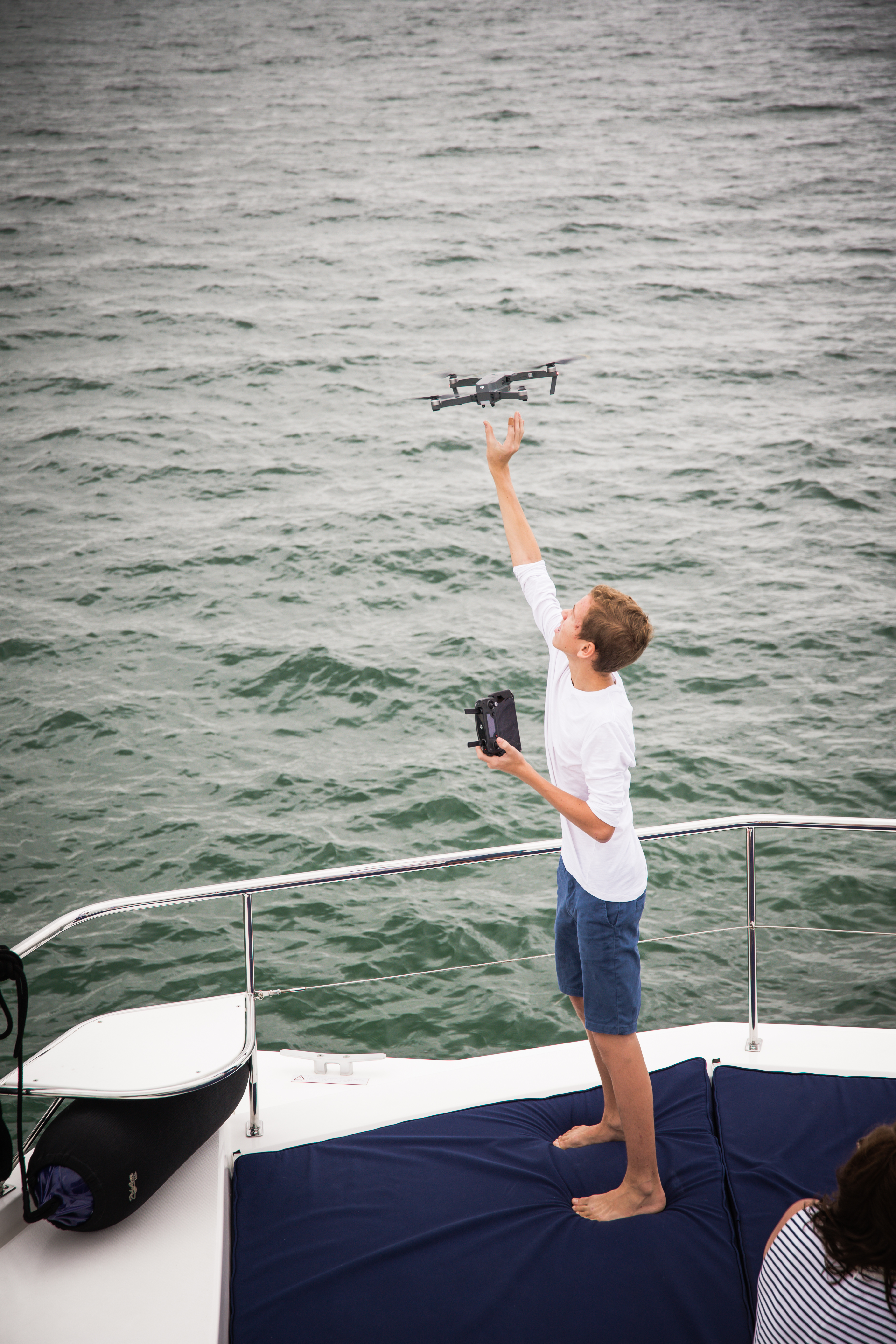 Setting The Drone