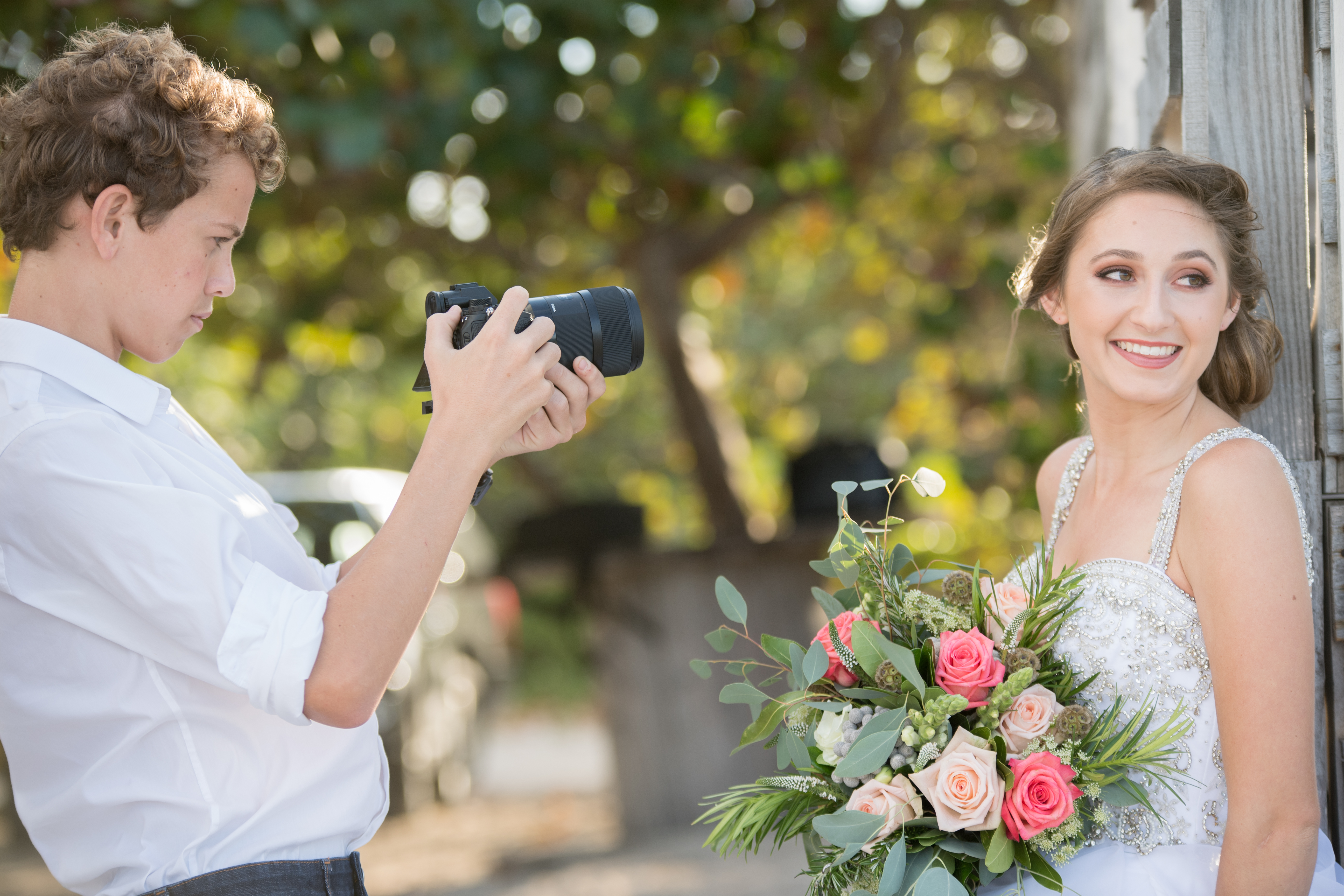 Photographing The Beautiful Bride
