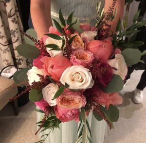 Stunning bridal flowers