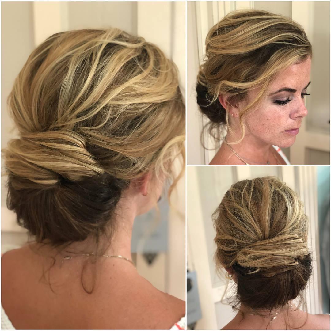 Nora, wedding hairstylist