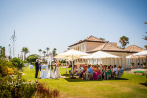 The wedding villa and wedding ceremony