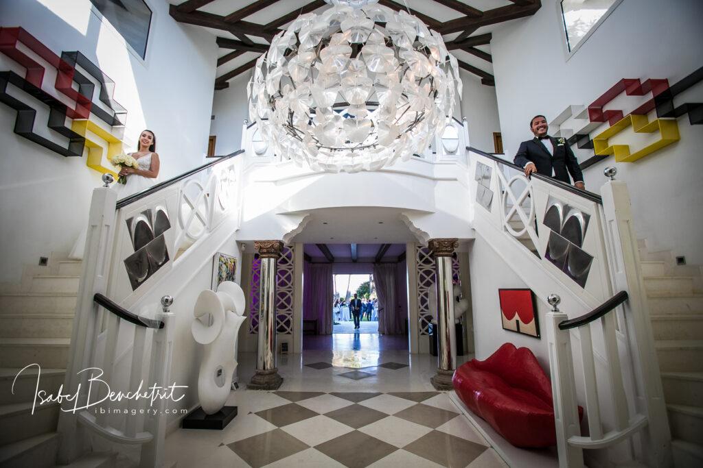 Inside the fabulous villa