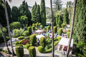 The Casa's landscaped gardens