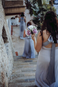 Bridesmaids and posies - Dominic Lula Photographer Mallorca