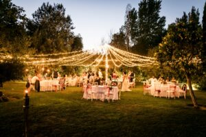 Stunning evening wedding decor - Talia Giraudo, Thoroughly Gorgeous