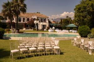 The beautiful ceremonial area at the Villa - Chris Wallace, Carpe Diem Photography