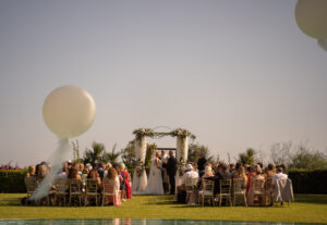 The bride and groom exchange their vows - Chris Wallance, Carpe Diem Photography