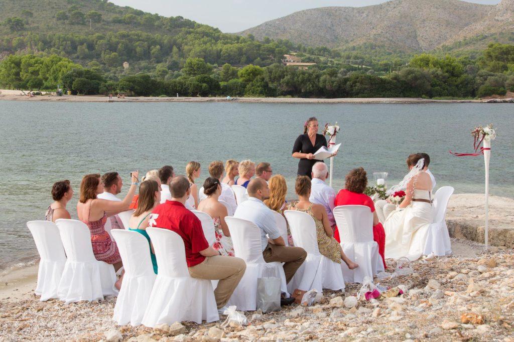 Beach Ceremony In Mallorca