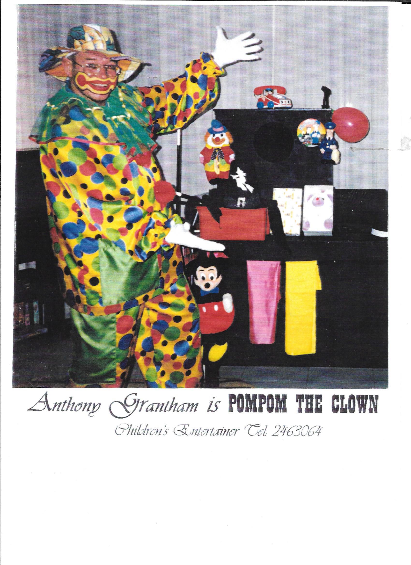 Pom Pom the Clown