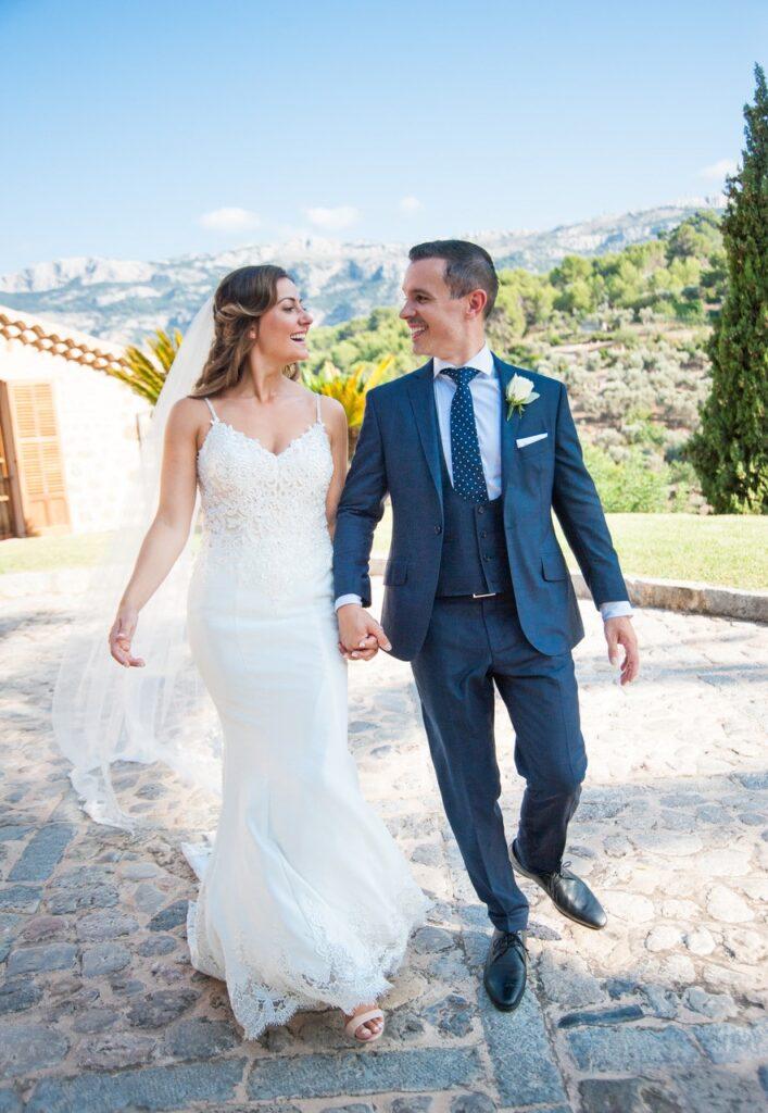 Beautiful Wedding Venue & Couple
