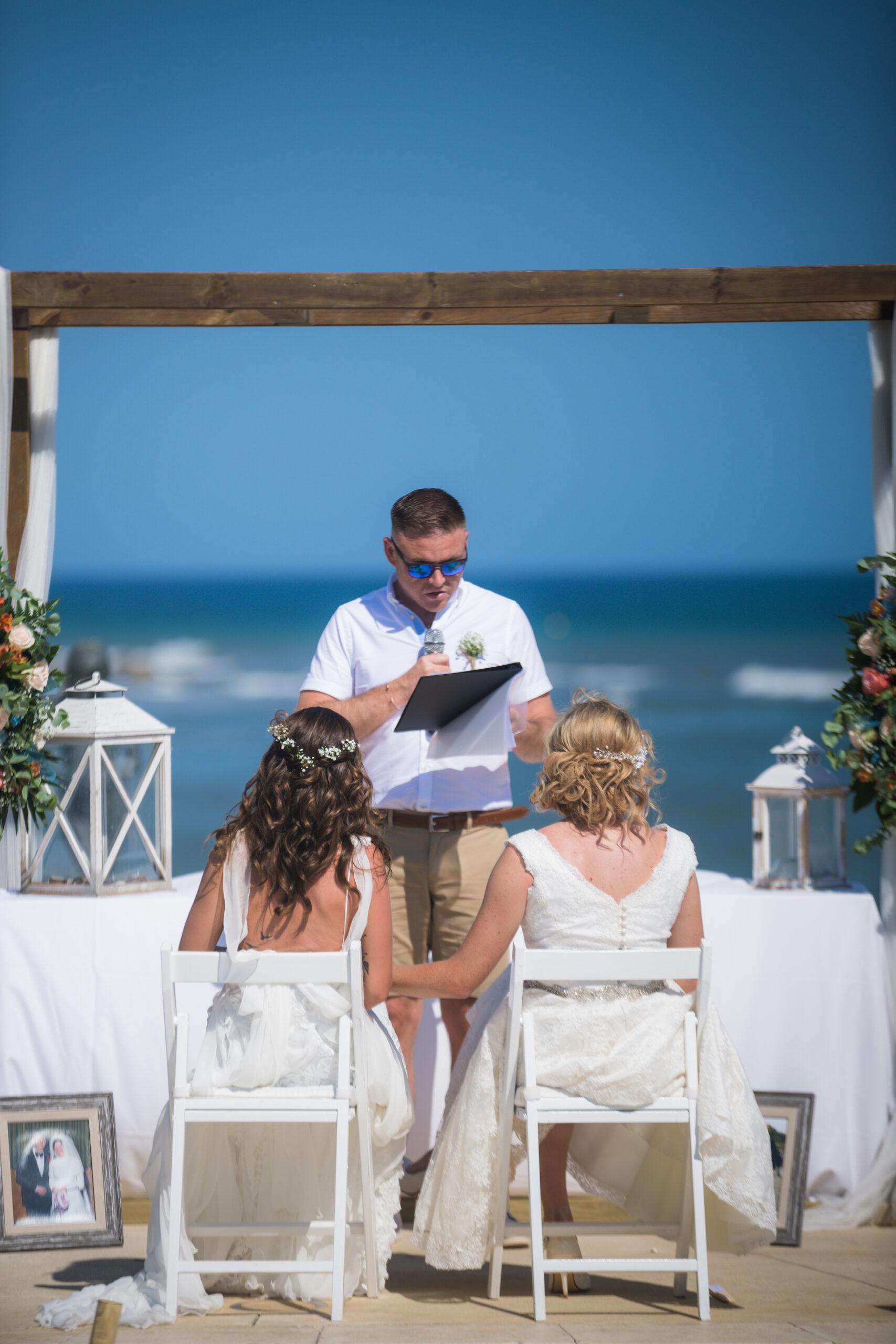 The beautiful wedding ceremony - Rebecca Davidson Photography