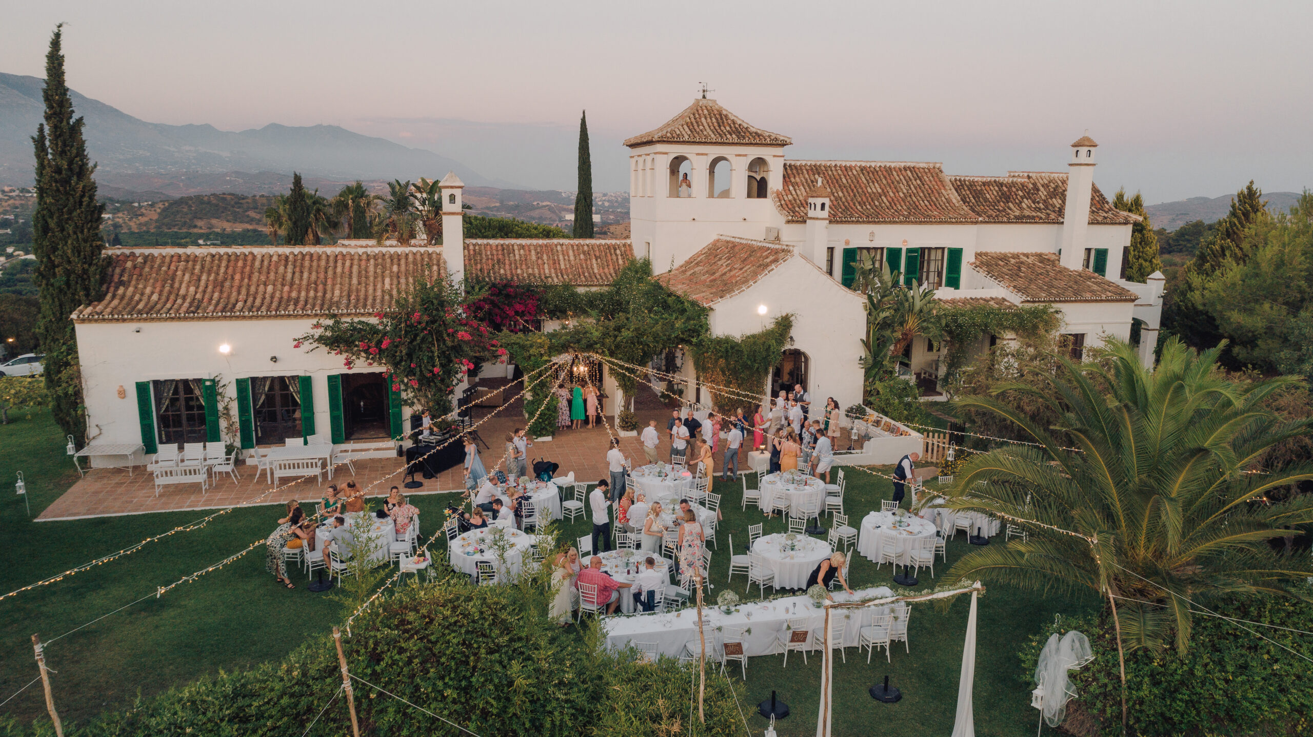 The Hacienda at sunset - Hove & Co Photography