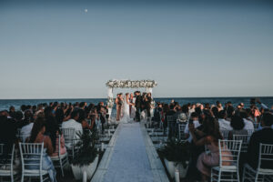 The wedding ceremony on the beach - Gino K photography