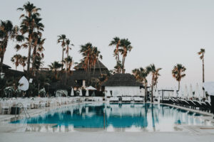 The luxurious beach club pool - Gino K photography