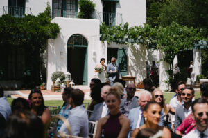 Bridal party awaiting the ceremony at the Villa - Pedro Bellido Photography