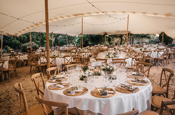 Summer storms or winter showers are of no threat to your big day in this private wedding venue.
