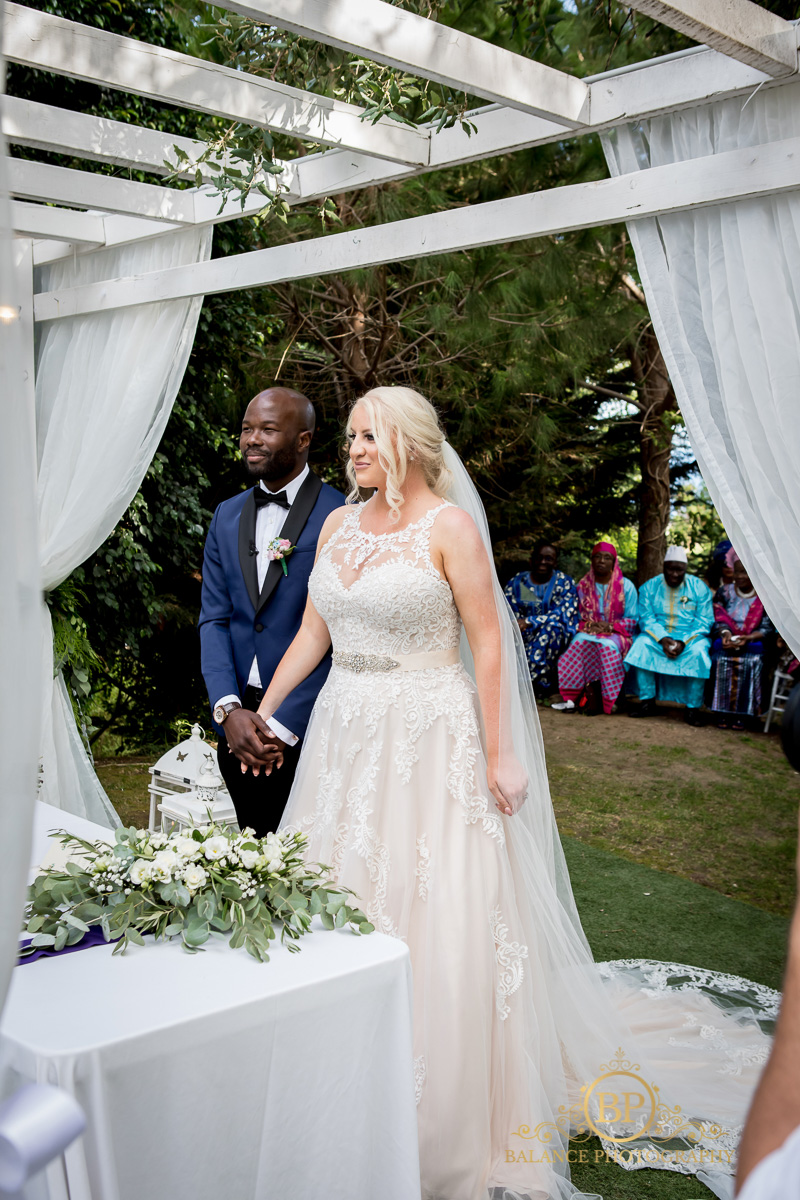 The bride and groom during the magical ceremony - Balance Photography