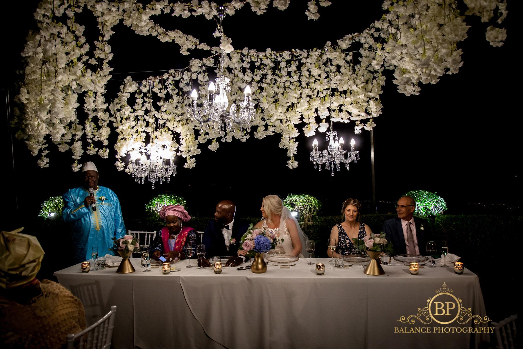 The wedding breakfast - Balance Photography