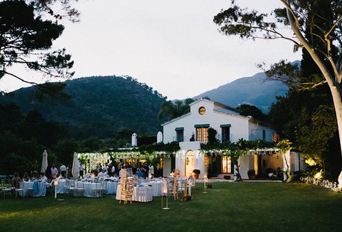 Riverside rustic wedding venue