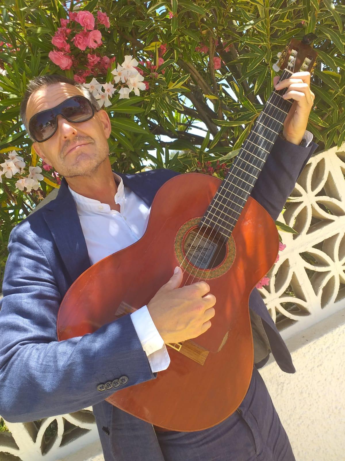 David Cale, Guitarist