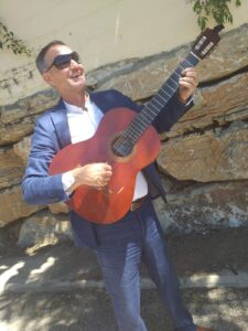 David Cale, wedding guitarist