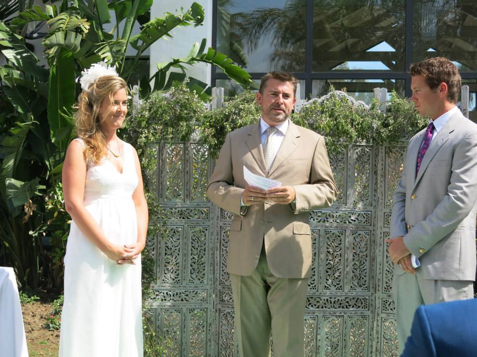 Gareth, Wedding Minister