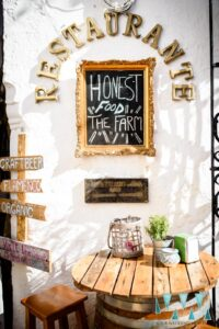 Entrance to the wedding venue's restaurant - Photogtaphy by Your Wedding Moments