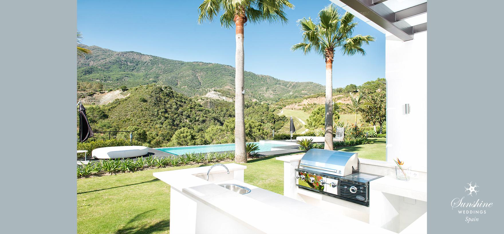 Luxury wedding resort