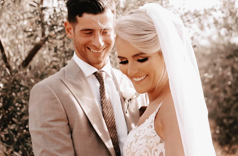 Bride and groom, Lluís, wedding videographer