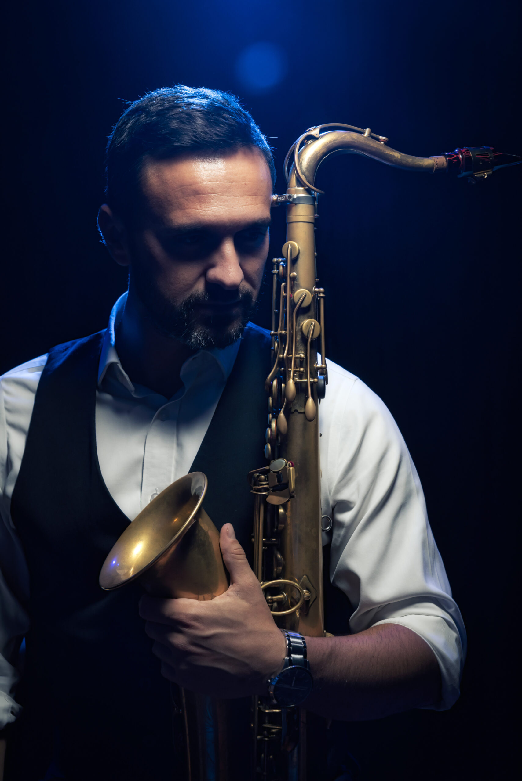 Wedding sax player, Mallorca