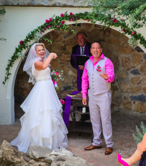 Humanist wedding minister