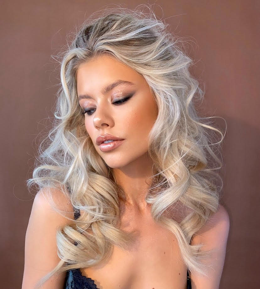 Bridal makeup by Eva