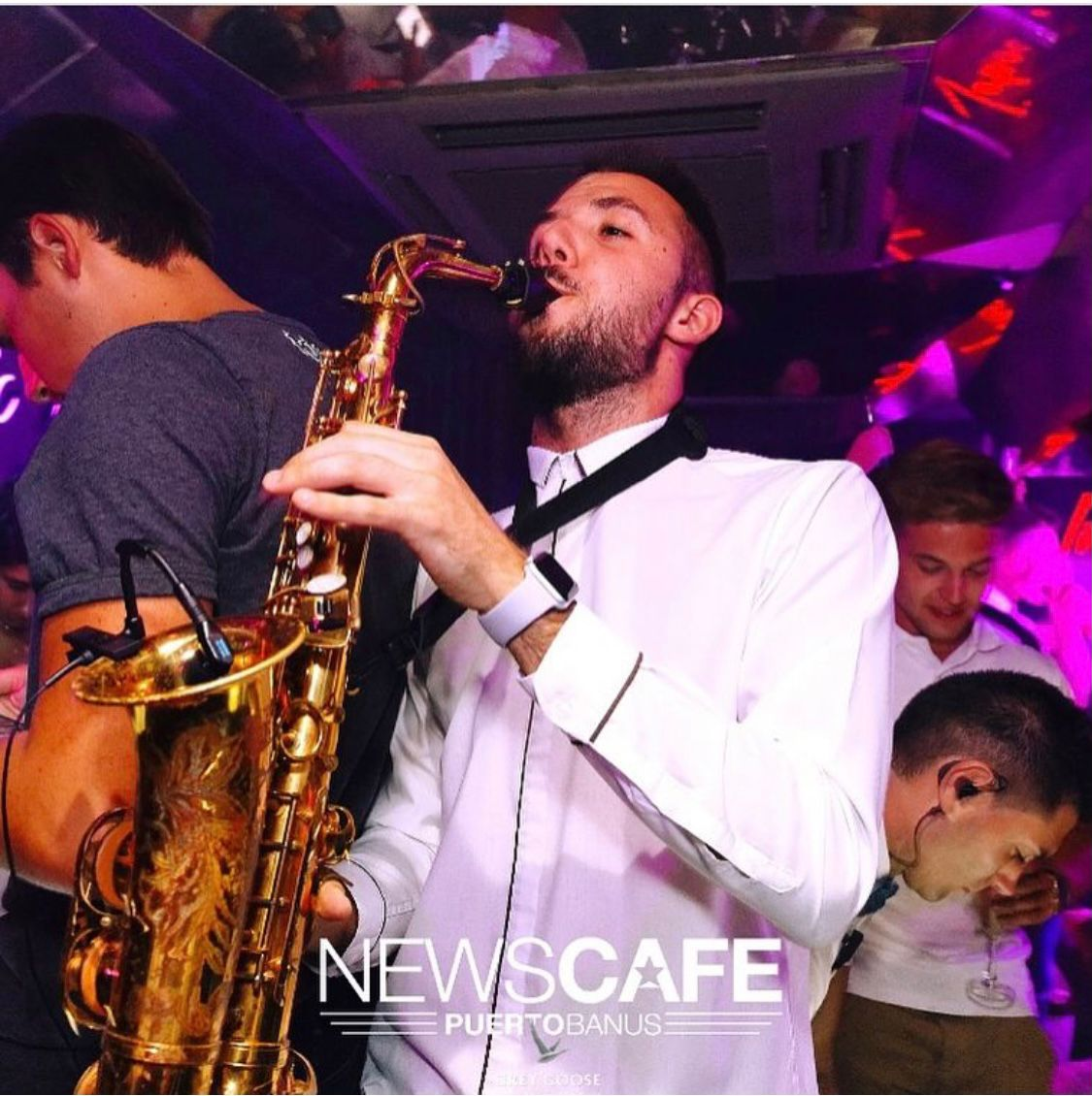 Adrian Jimenez Diaz,Wedding Saxophonist based in Malaga, Spain.