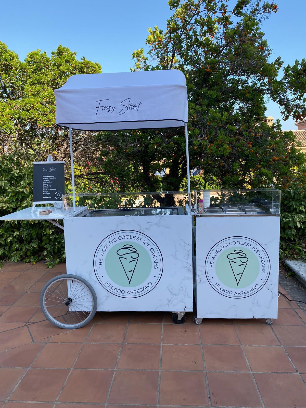 Dairy-free ice cream Costa del Sol