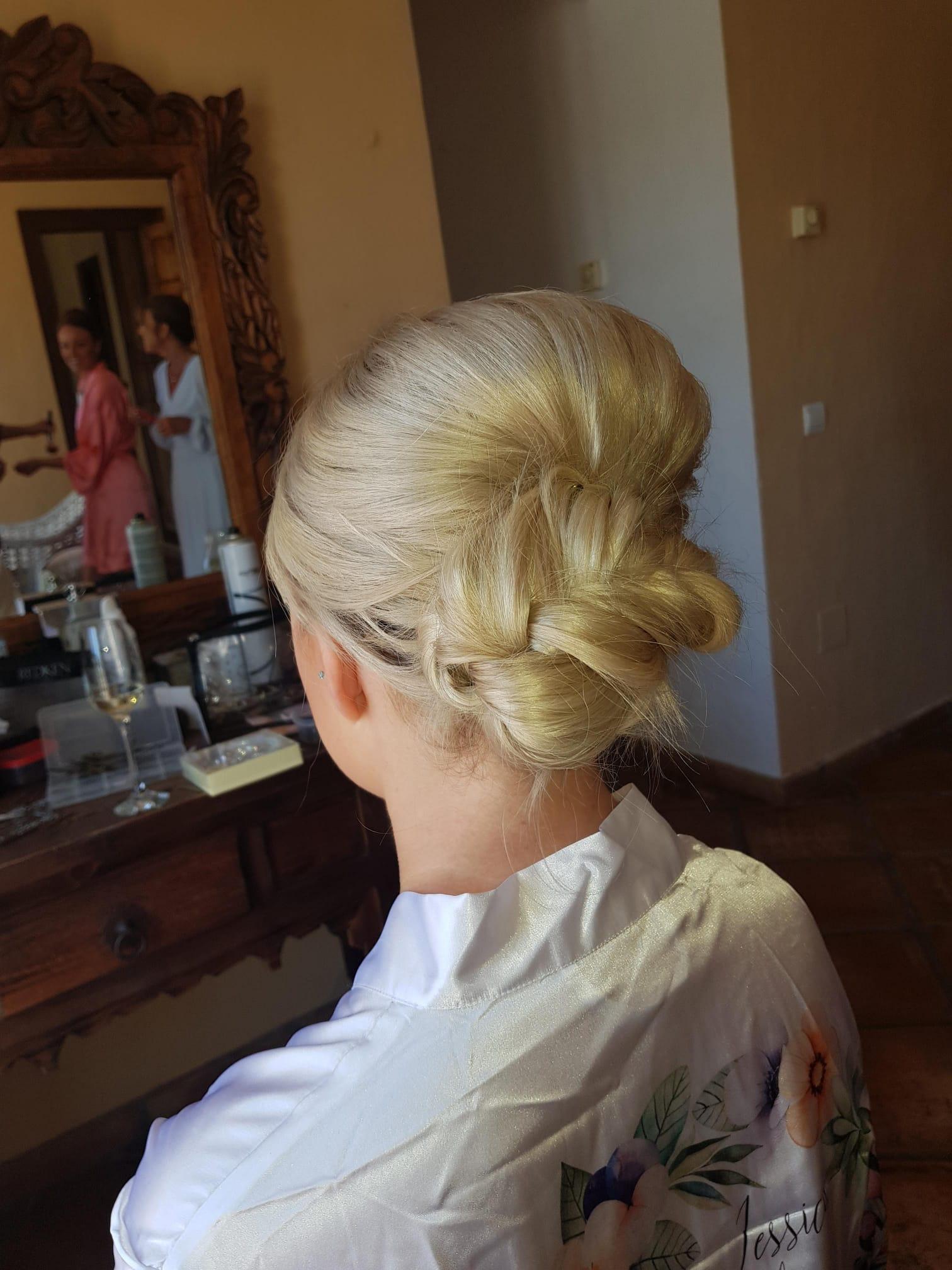 Bridal preparations in Spain.