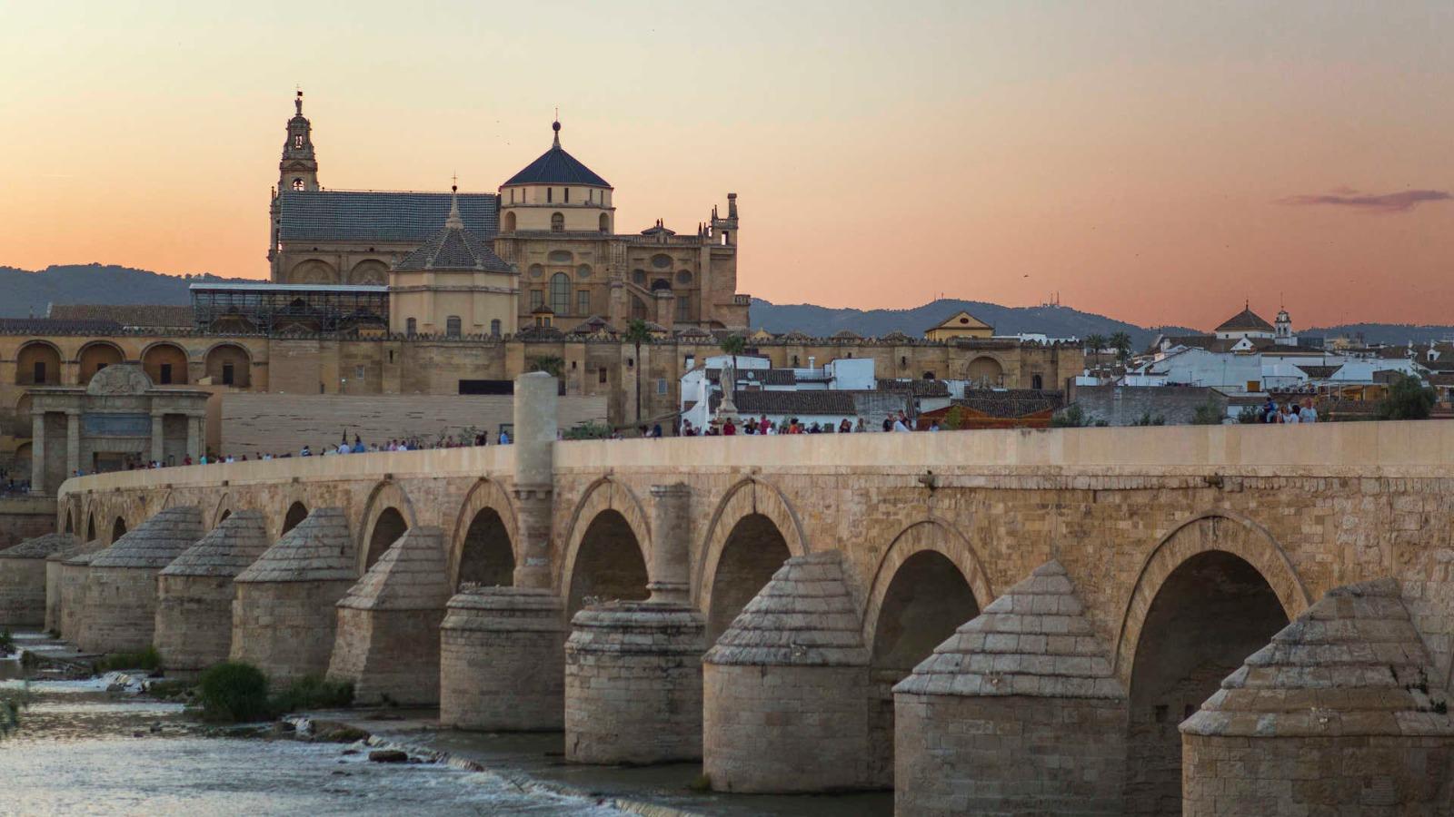 The Roman bridge of Córdoba