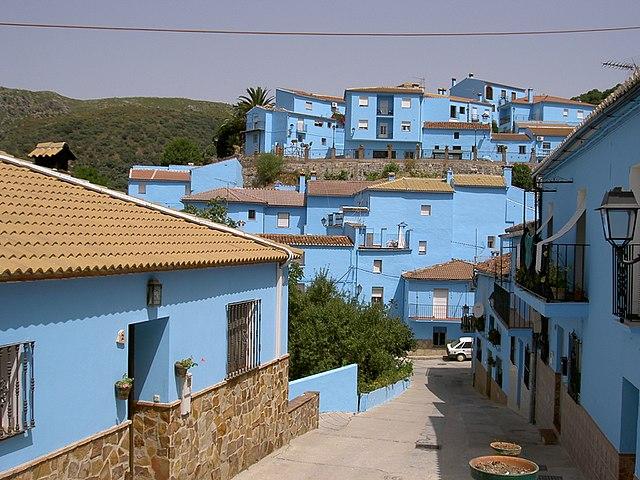 Juzcar, smurf village in Spain