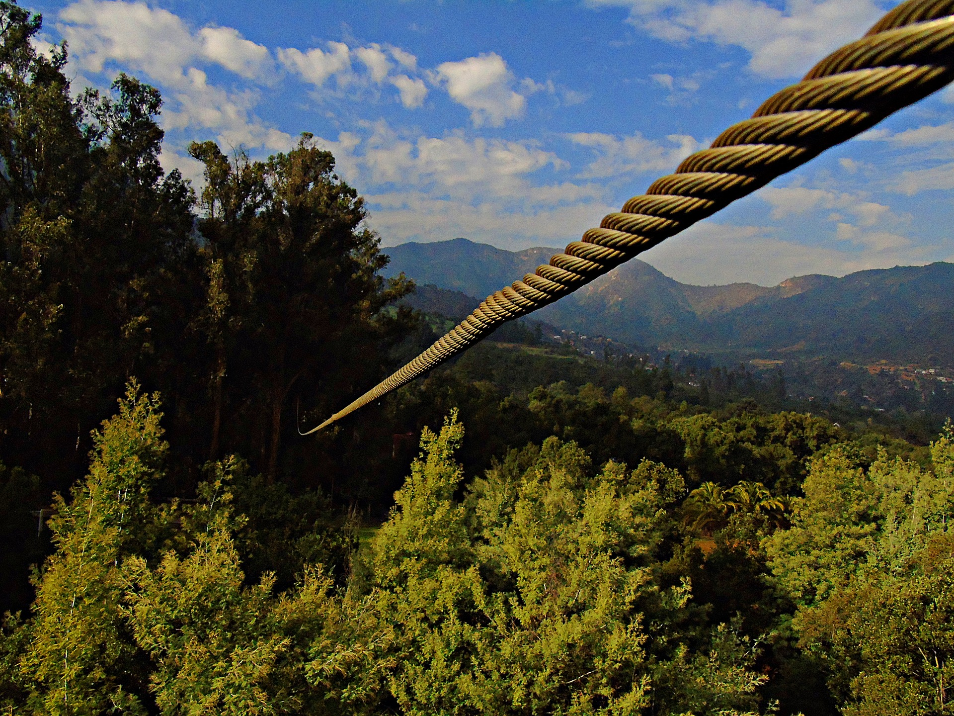 Adventurous pre-wedding activities Ziplining fun in Spain's Malaga