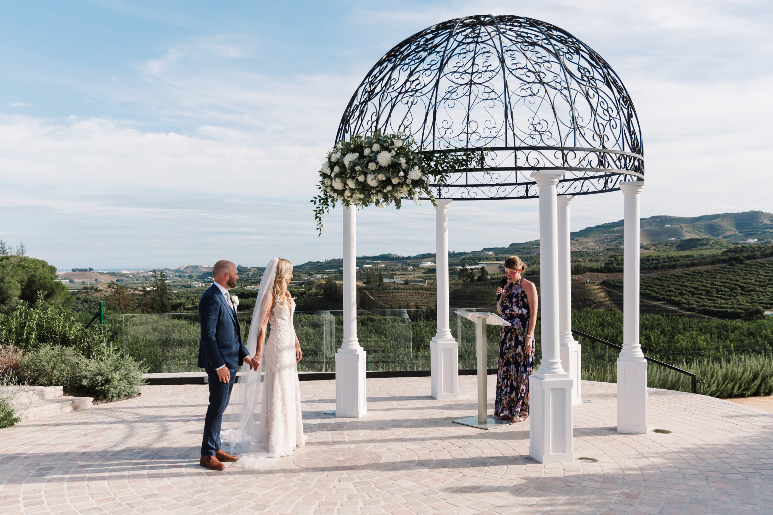 expert wedding florist in Spain