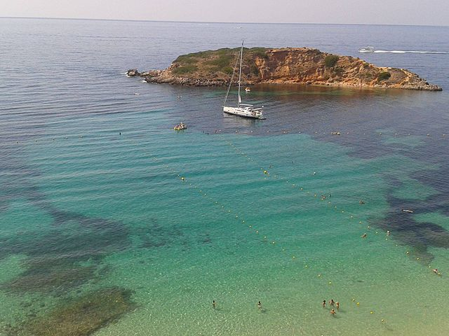 Cliff top church wedding, Mallorca is home to breathtaking virgin beaches and uncounted secret coves,