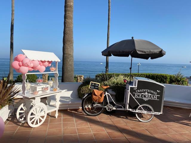Expert Wedding Planner, ice cream cart