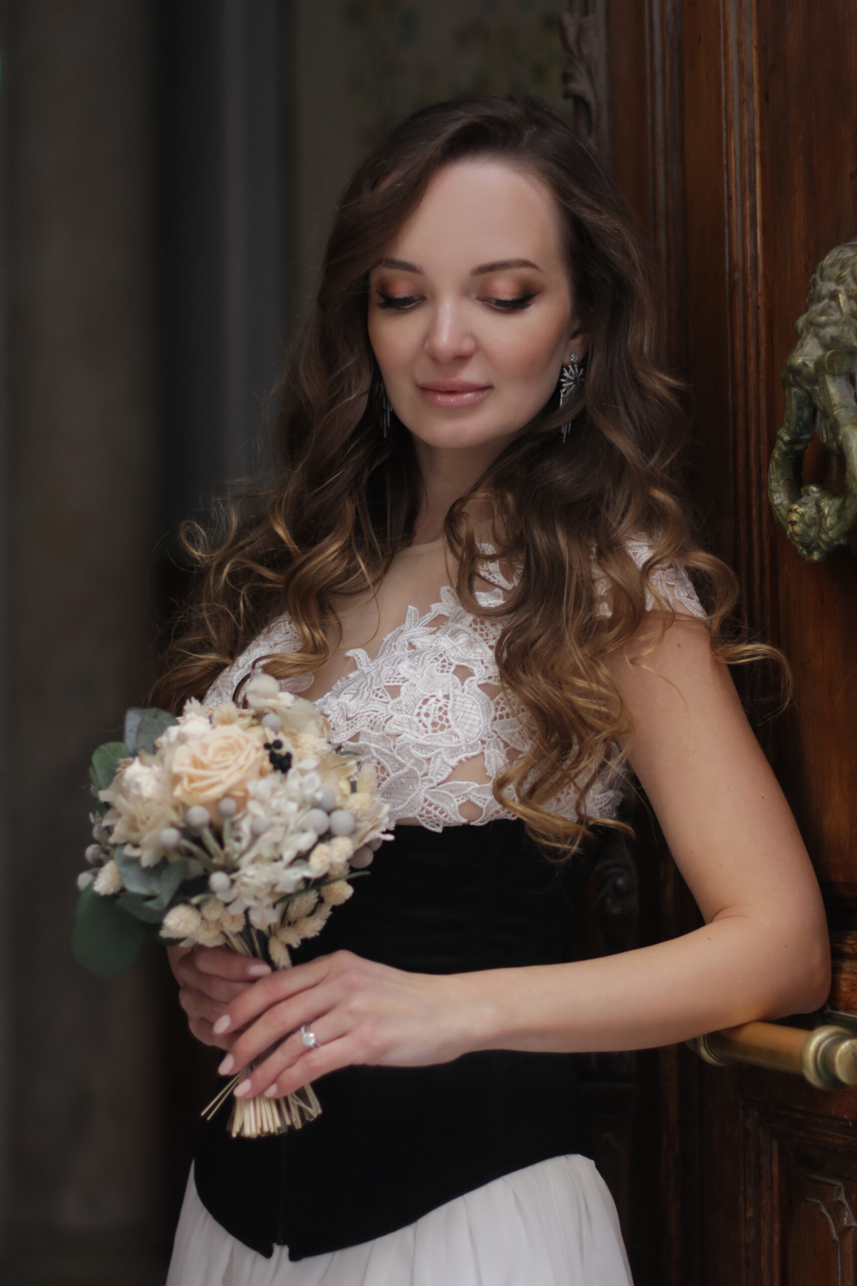 Picture perfect bridal hair & makeup