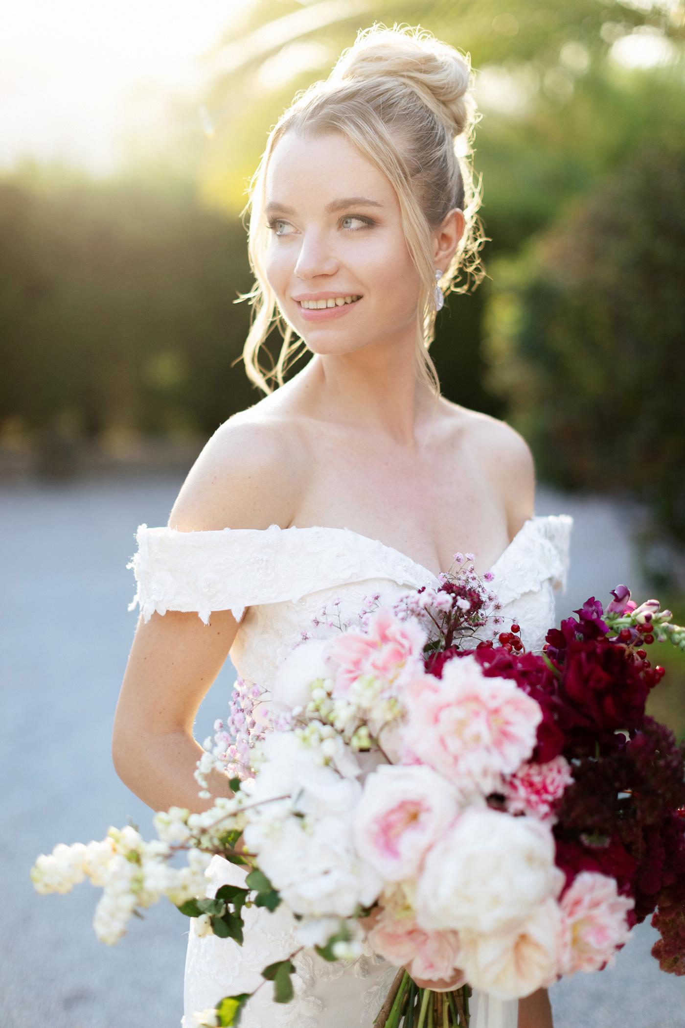 Picture perfect bridal makeup